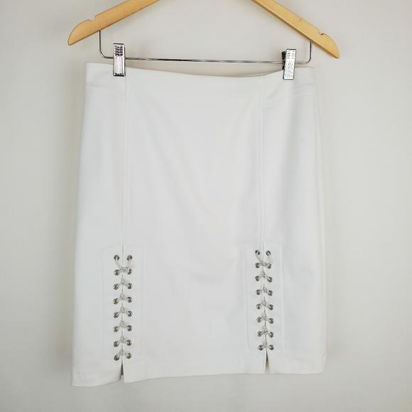 Etcetera Size 2 white skirt